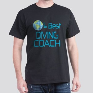 Earths Best Diving Coach Dark T-Shirt