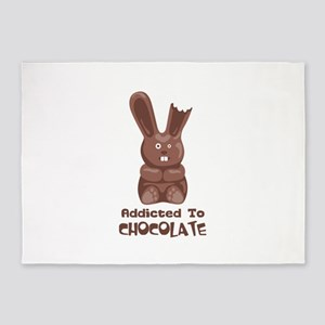Addicted to Chocolate 5'x7'Area Rug