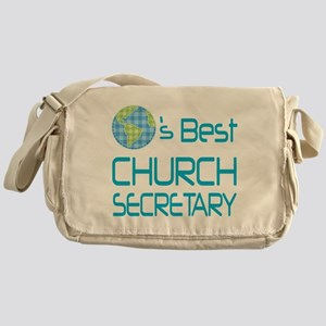 Earths Best Church Secretary Messenger Bag