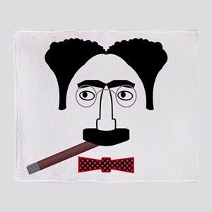 Groucho Marx Throw Blanket