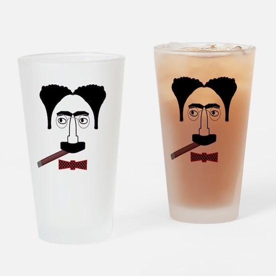 Groucho Marx Drinking Glass