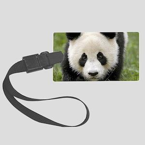 Panda Large Luggage Tag