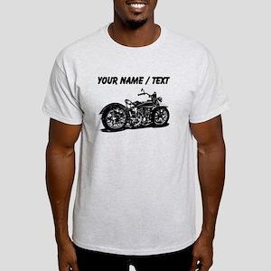 Custom Vintage Motorcycle T-Shirt
