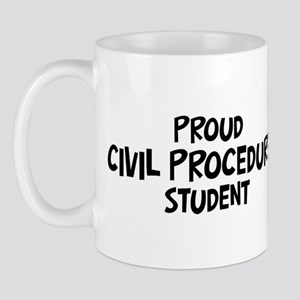 civil procedure student Mug