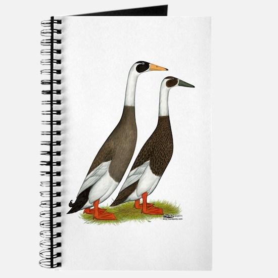 Runner Ducks Emery Penciled Journal