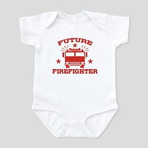 Future Firefighter Baby Light Bodysuit