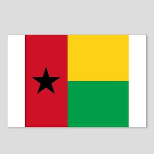 Flag of Guinea-Bissau Postcards (Package of 8)