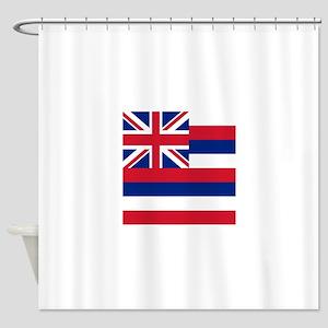 Flag of Hawaii Shower Curtain
