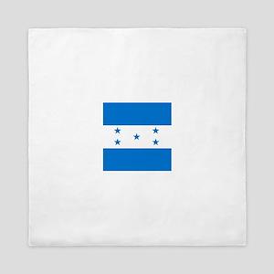 Flag of Honduras Queen Duvet