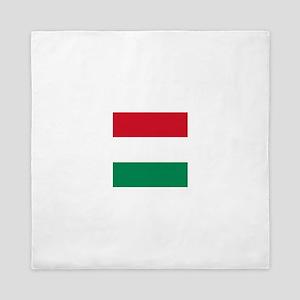 Flag of Hungary Queen Duvet
