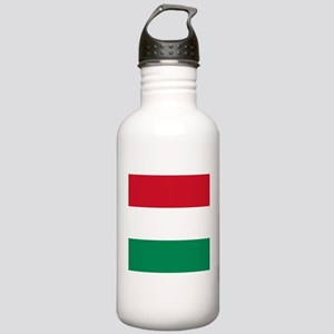 Flag of Hungary Sports Water Bottle