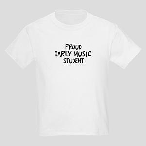early music student Kids Light T-Shirt