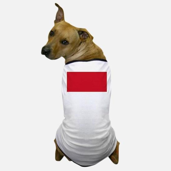 Flag of Indonesia Dog T-Shirt