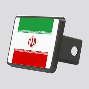 Flag of Iran Rectangular Hitch Cover