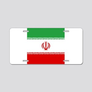 Flag of Iran Aluminum License Plate