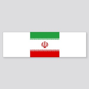 Flag of Iran Bumper Sticker