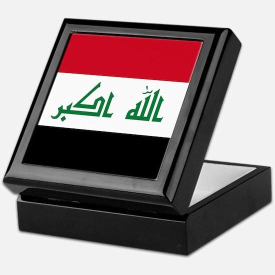 Flag of Iraq Keepsake Box