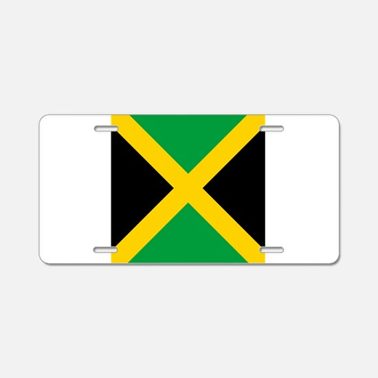 Flag of Jamaica Aluminum License Plate