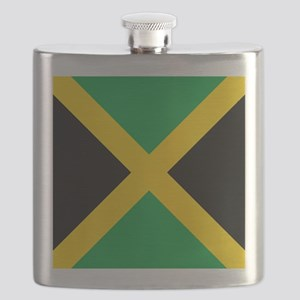 Flag of Jamaica Flask