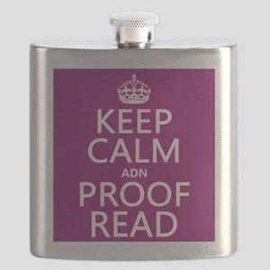 Keep Calm and Proof Read (adn) Flask