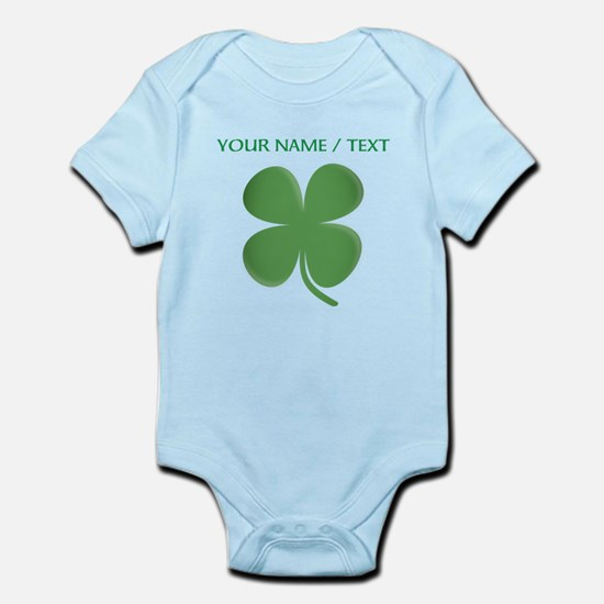 Custom Green Four Leaf Clover Body Suit