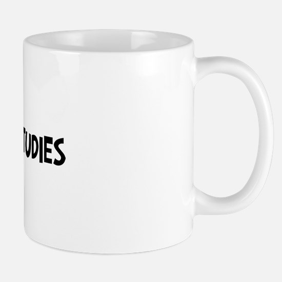 women gender studies student Mug