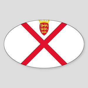 Flag of Jersey Sticker
