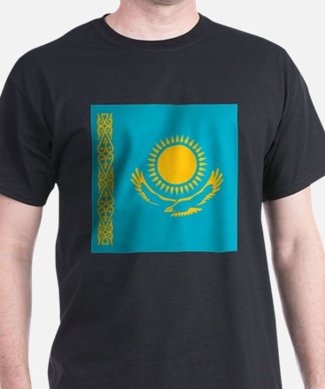 Flag of Kazakhstan T-Shirt