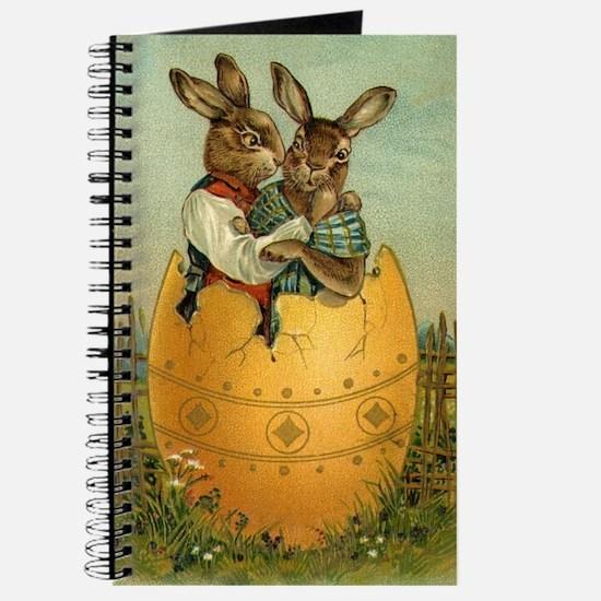 Vintage Easter Bunnies Journal