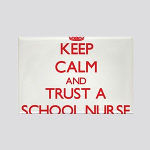 Keep Calm and Trust a School Nurse Magnets