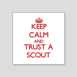Keep Calm and Trust a Scout Sticker