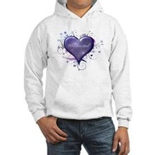 Pleiadian Soul Heart Hooded Sweatshirt