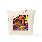 Dancing Fleur de Lis Poster Tote Bag