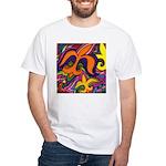 Dancing Fleur de Lis Poster T-Shirt