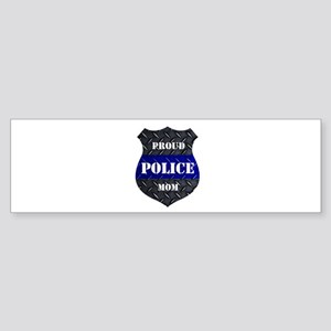 Proud Police Mom Bumper Sticker