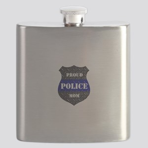Proud Police Mom Flask