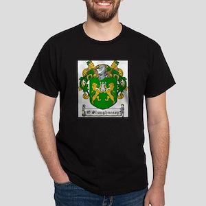 O'Shaughnessy Family Crest Ash Grey T-Shirt