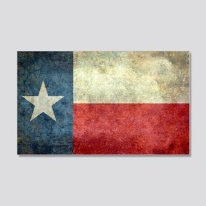 """The """"Lone Star Flag"""" of Texas 20x12 Wall Decal"""