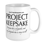 Project Keepsake Large Mug