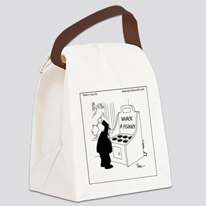 Whack A Flunky Canvas Lunch Bag