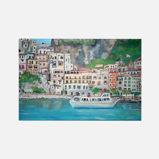 Amalfi Coast, Italy Rectangle Magnet