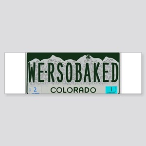 Funny Colorado License Plate Bumper Sticker