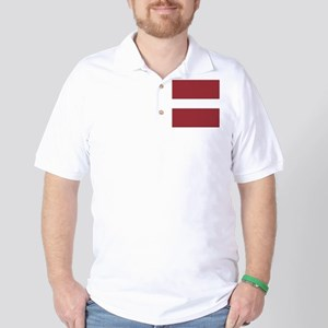 Flag of Latvia Golf Shirt