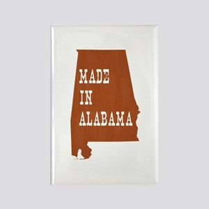 Made In Alabama Rectangle Magnet