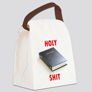 Holy Shit Canvas Lunch Bag