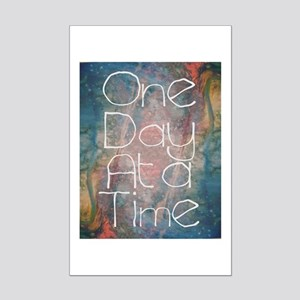 One Day at a Time Abstract Art Posters