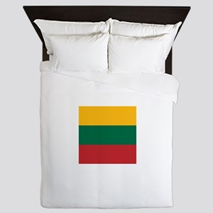 Flag of Lithuania Queen Duvet