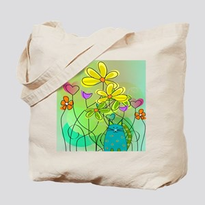Spring Flowers 112 Tote Bag