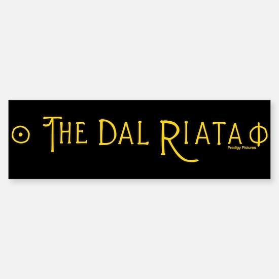The Dal Riata Sticker (Bumper)
