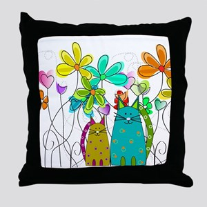 Spring Flowers 14 Throw Pillow